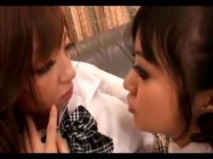Japanese Lesbian, Strap On Babe