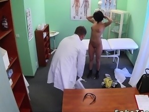 Patient gets fucking treatment from doctor