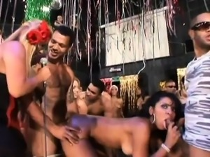 brazilian new years party