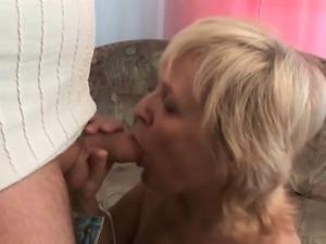 Unload your cock on grandma