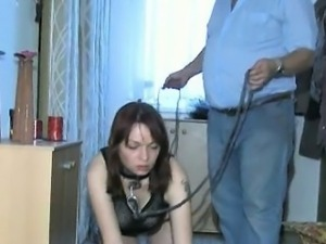 Nasty  slut gets sodomized