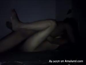 Indian couple enjoying hot quickie