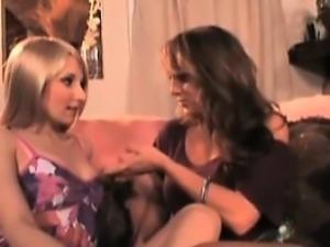 Lesbians teen busty blonde kissing nipples