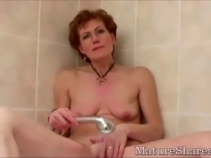 Kinky Granny Just Shaved