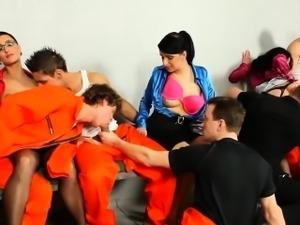 Bisexual prisoners sucked