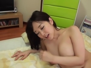 Sexy Japanese Mom Gives Young Man a Treat