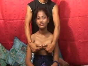 Shy indian teen Vikki sweet fuckable titties