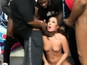 Bbc group blowing whore