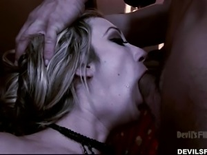 amy brooke sucks two cocks @ this isn't the new moon