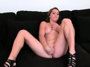 Attractive bitch rubbing and fingering part5