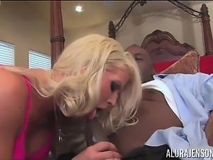Alura Jenson Sucks and Fucks DFW Interracial