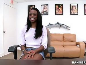 Tiffany Tailor is never enough and takes guys hard fuck stick in her mouth...