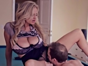 Enormous hooters wifey Kelly Madison pounded real hard