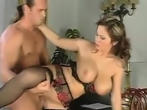 Busty Mother In Lingerie Having Sex
