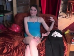 Very first casting for amateur teen couple
