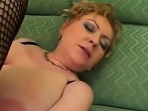 Busty Mature Blonde And Big Black Cock