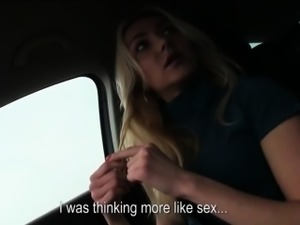 Victoria takes big cock in her wet pussy