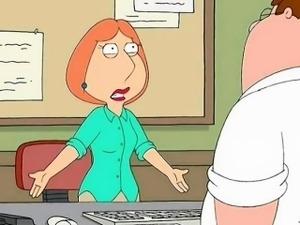 Family Guy Porn - Sex in office