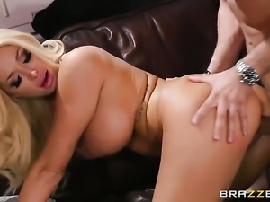 Mick Blue pulls out his tool to fuck lovely Summer Brielles love hole