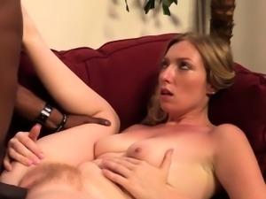 Big dick fucking blonde