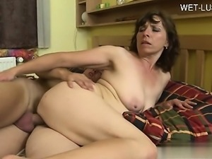 Horny student hard doggystyle