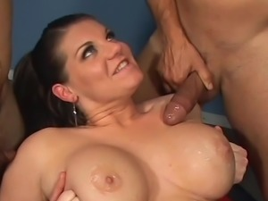 Big-Titted grunt has xxx pair bisexuals