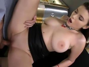 Big boobs face sitting
