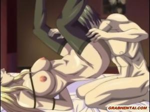 Bondage hentai with bigboobs gets hard assfucked