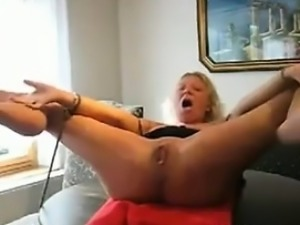 Bound Wife Getting Fisted And Squirting
