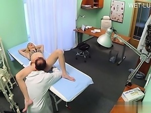 Hot gf first facial