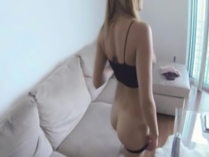 Homemade sex tape with hot girlfriend