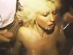 Blonde Whore With Lots Of Cock Classic