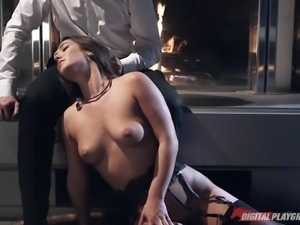 horny milf wants to play in the office