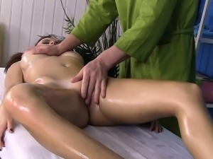 Sexy redhead with big fanny gets screwed hard