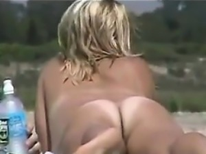 Naked Mothers At The Beach Compilation