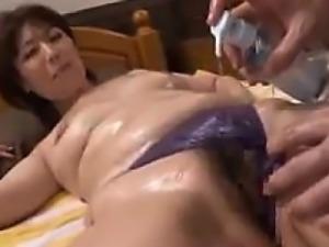 Japanese Babe Massaged And Fingered