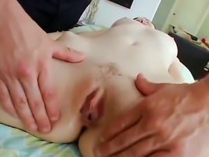 Jay taylor goes out to have a massage. The guy who is doing her is really hot...