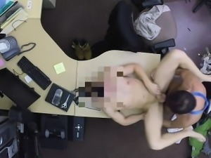 He fuck me on my desk and slammed my ass