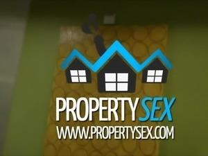 PropertySex - Young realtor homemade sex