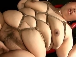 Asian BBW Slave - Fucking Machine