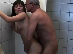 Grandppa Bangs Teen Slut Kathy