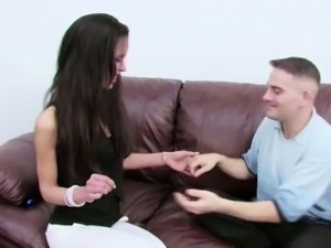 Real First Time Fake Casting with Skinny Perfect MILF