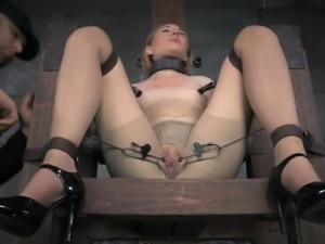 Horny wife riding creampie
