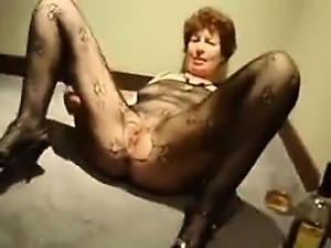 Nasty Grandma From Britain Wants A Cock