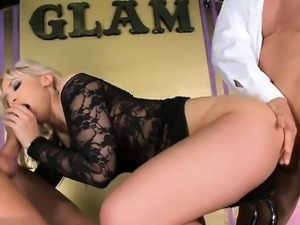 Hot secretary fucking orgasm