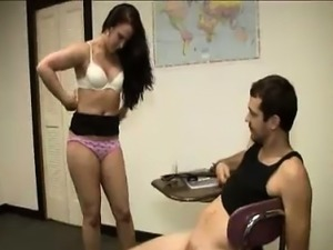 Milf Punishes Young Guy For His Bad Behavior In Class