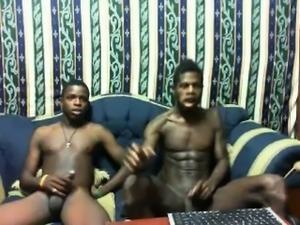 cute black gay couple for webcam