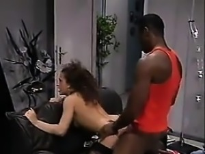 Brazilian Chick Banged By Big Black Cock