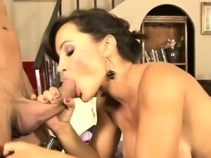 Italian mom and son cum filled pussy