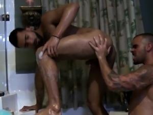 Muscular jocks anal fuck